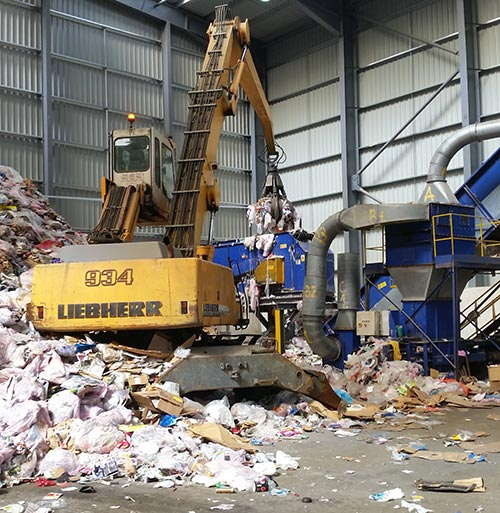 Skip hire plant in Essex